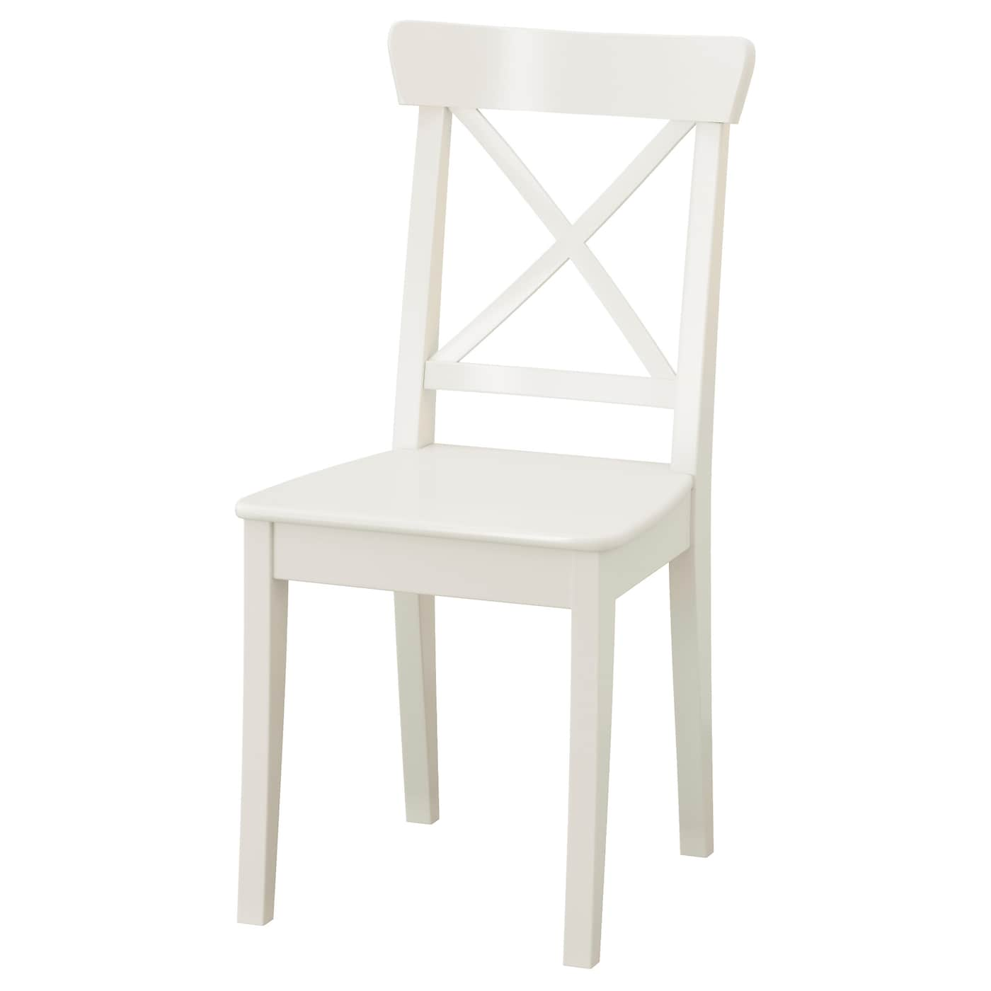 White And Natural Wood Kitchen Chairs