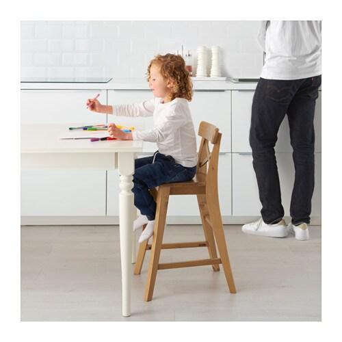 ingolf junior chair antique stain ikea. Black Bedroom Furniture Sets. Home Design Ideas