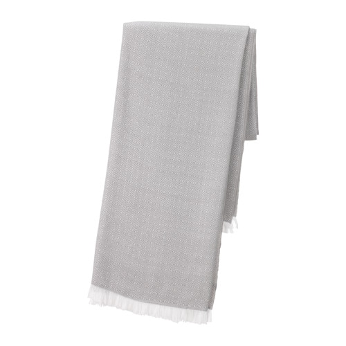 IKEA INGUNN throw The fleece throw feels soft against your skin and can be machine washed.
