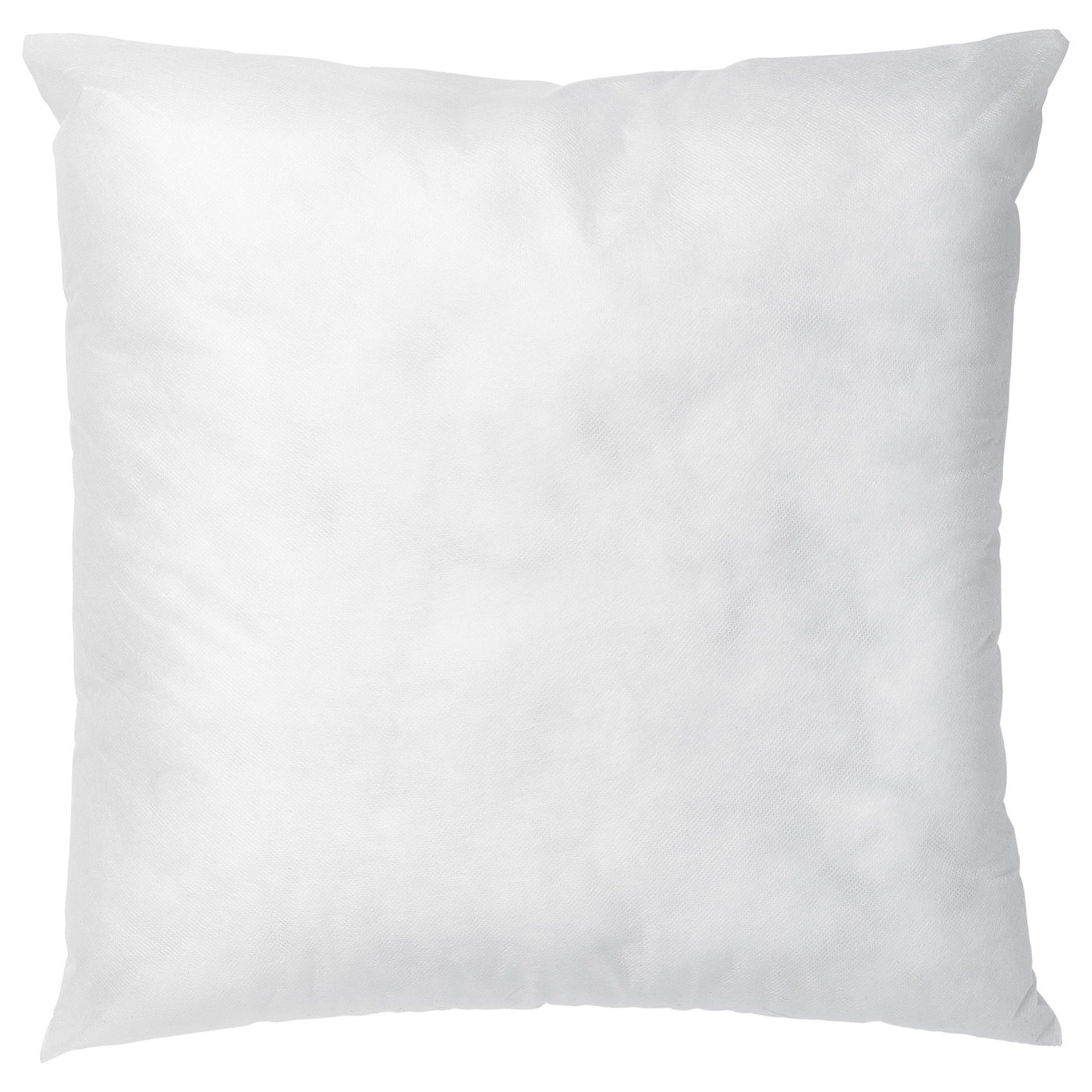 Plain White 43 cm x 43 cm 1 Pack Luxury Filled Cushions 17 x 17 Inches Poly Cotton Cushion Pad Inner for Indoor Outdoor Seat Inserts Pack of 1