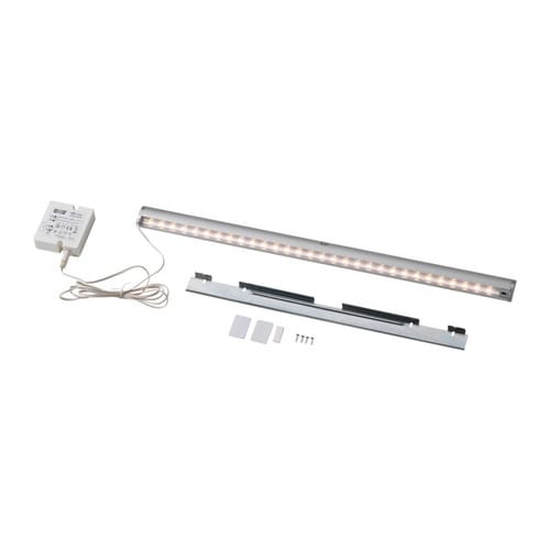 INREDA LED lighting strip IKEA LED; emits low heat and can be used in narrow spaces such as drawers, shelves and wardrobes.