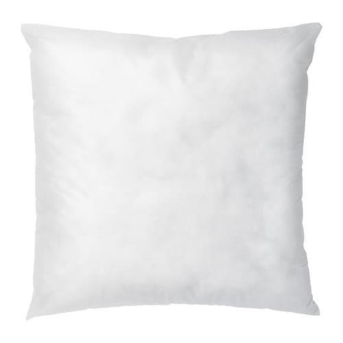 isfrid inner cushion white 50x50 cm ikea. Black Bedroom Furniture Sets. Home Design Ideas