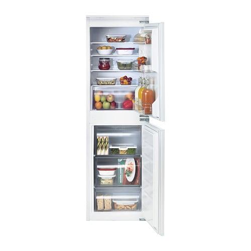 isigt integrated fridge freezer a white 152 109 l ikea. Black Bedroom Furniture Sets. Home Design Ideas