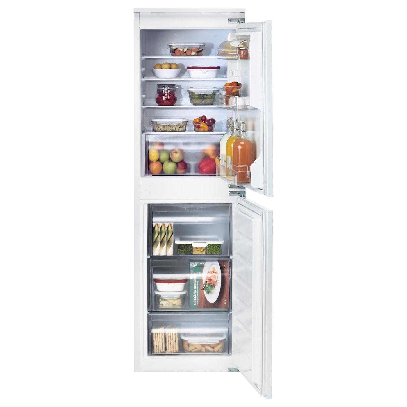 ISIGT Integrated fridge/freezer A+ White 152/109 l - IKEA