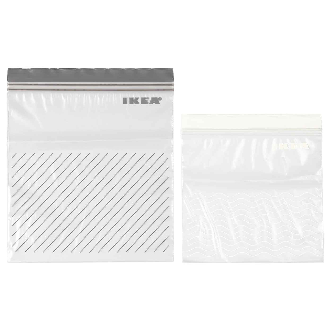 IKEA ISTAD resealable bag Can be used over and over again since it can be re-sealed.