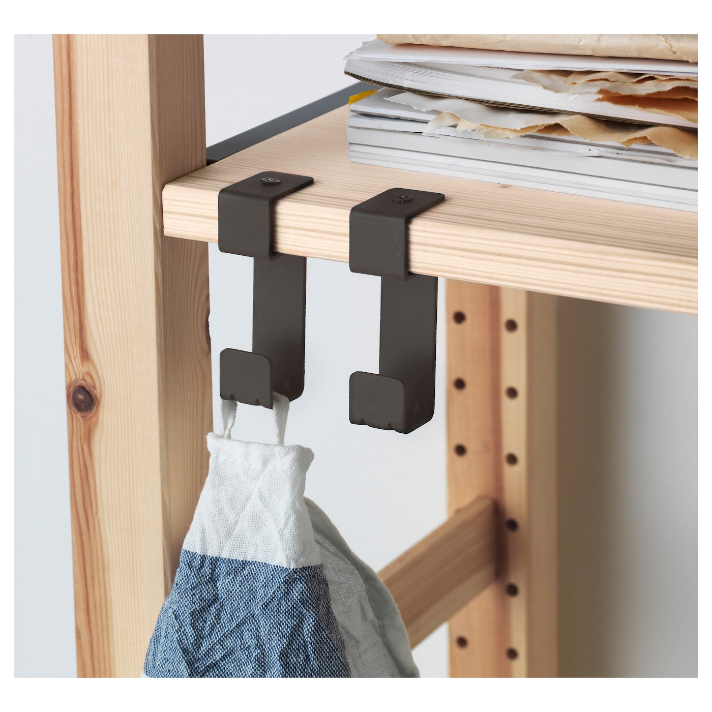 IKEA IVAR 1 section/shelves/drawers You can move shelves and adapt spacing to suit your needs.