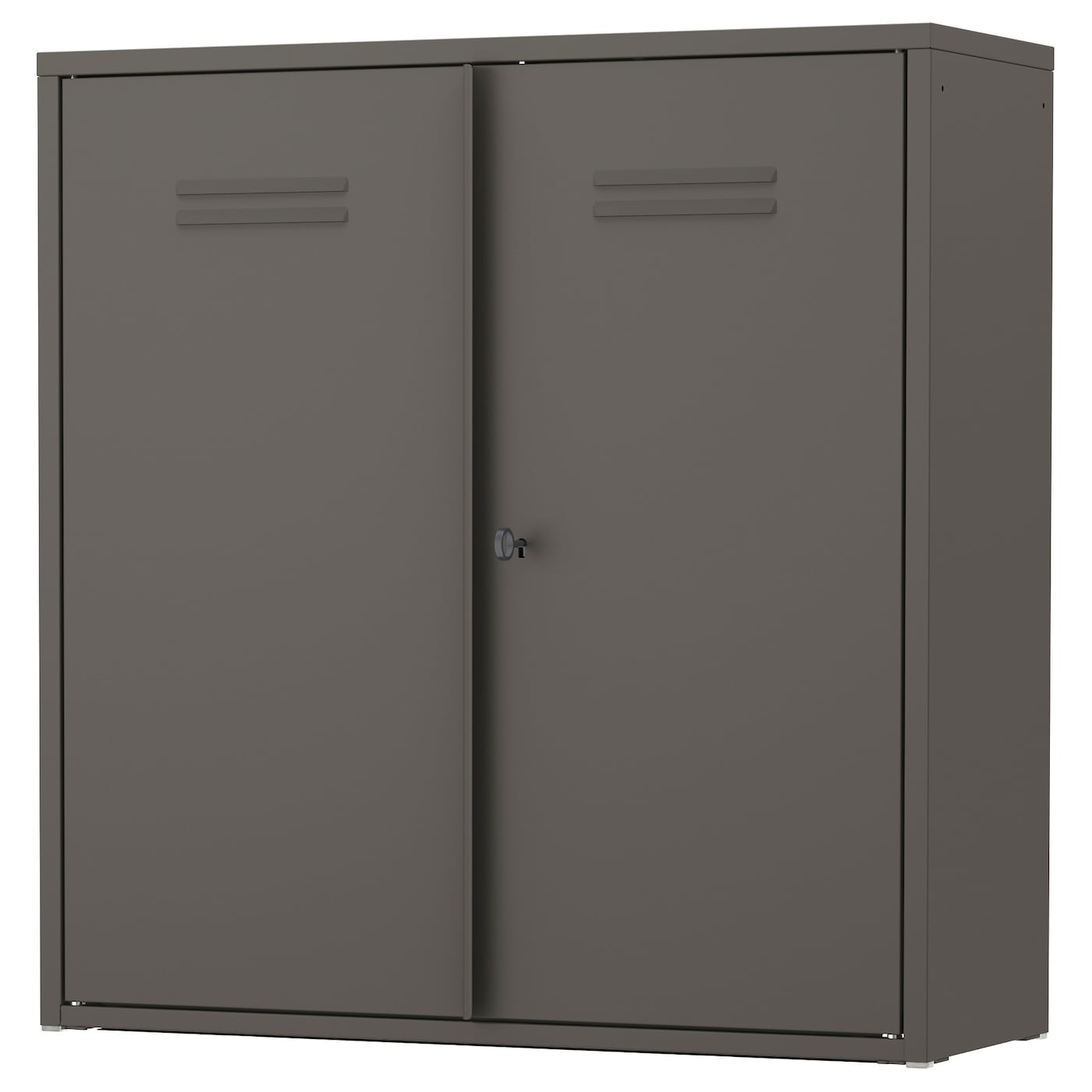 Spruce Up Your Kitchen With These Cabinet Door Styles: IVAR Cabinet With Doors Grey 80 X 83 Cm
