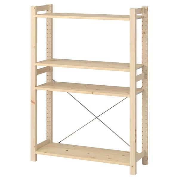 IVAR pine, Shelf. Shop online or in