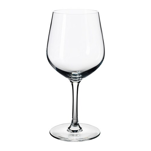 IVRIG Red wine glass IKEA