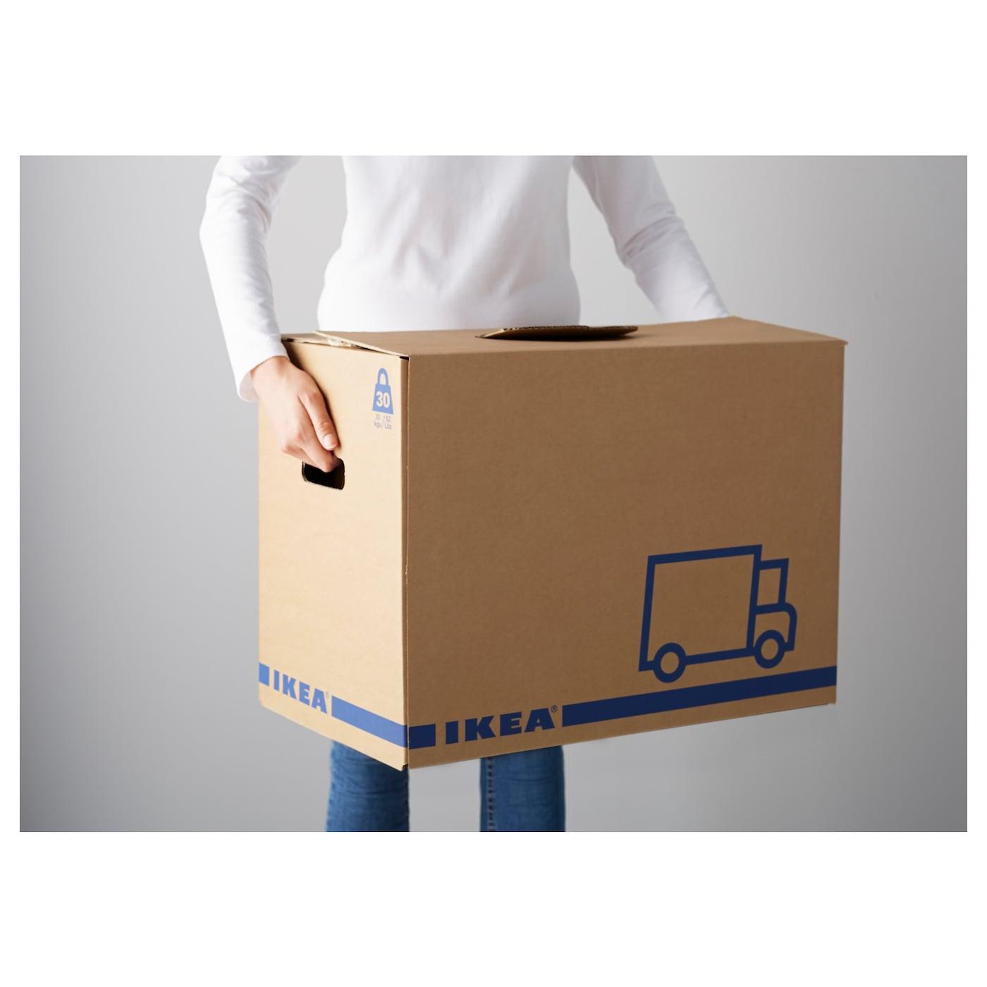 "J""TTENE Packaging box Brown 56x33x41 cm IKEA"