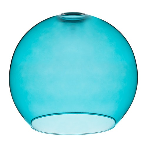 JAKOBSBYN Pendant lamp shade Turquoise  IKEA