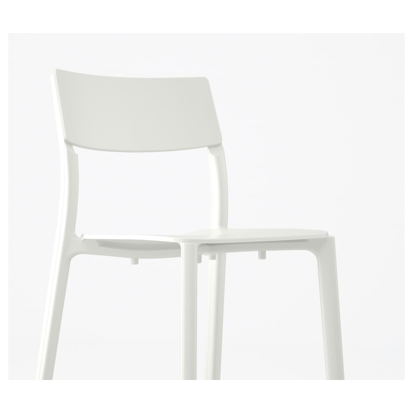 Janinge chair white ikea for Ikea white chair