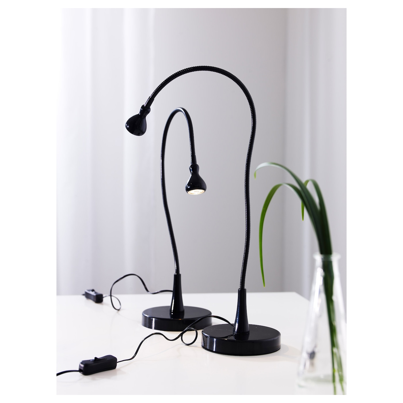 jansj led work lamp black 60 cm ikea. Black Bedroom Furniture Sets. Home Design Ideas