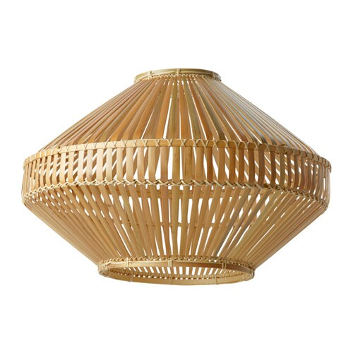 Jassa pendant lamp shade bamboo 54 cm ikea - Ikea abat jour suspension ...
