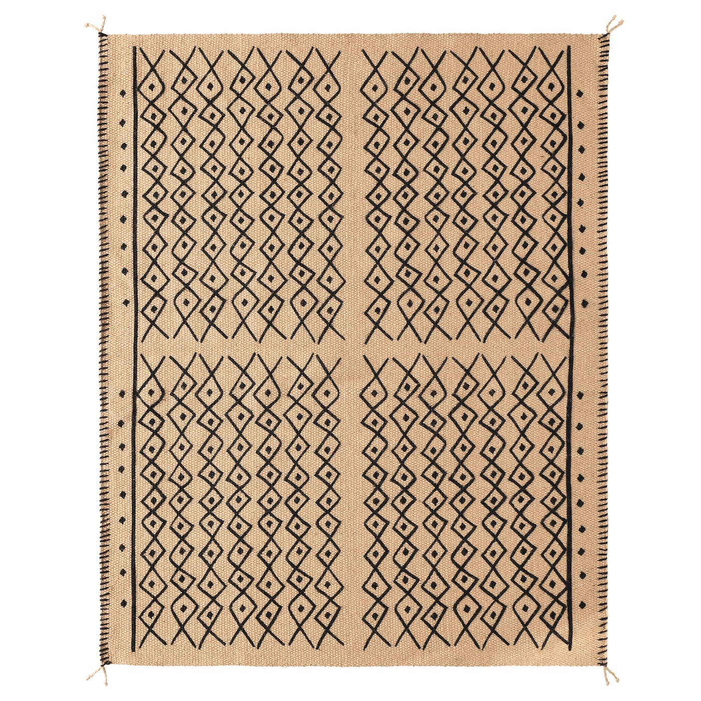 IKEA JASSA rug, flatwoven Jute is a durable and recyclable material with natural colour variations.
