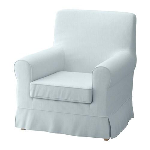 Jennylund armchair nordvalla light blue ikea for Sofa hellblau