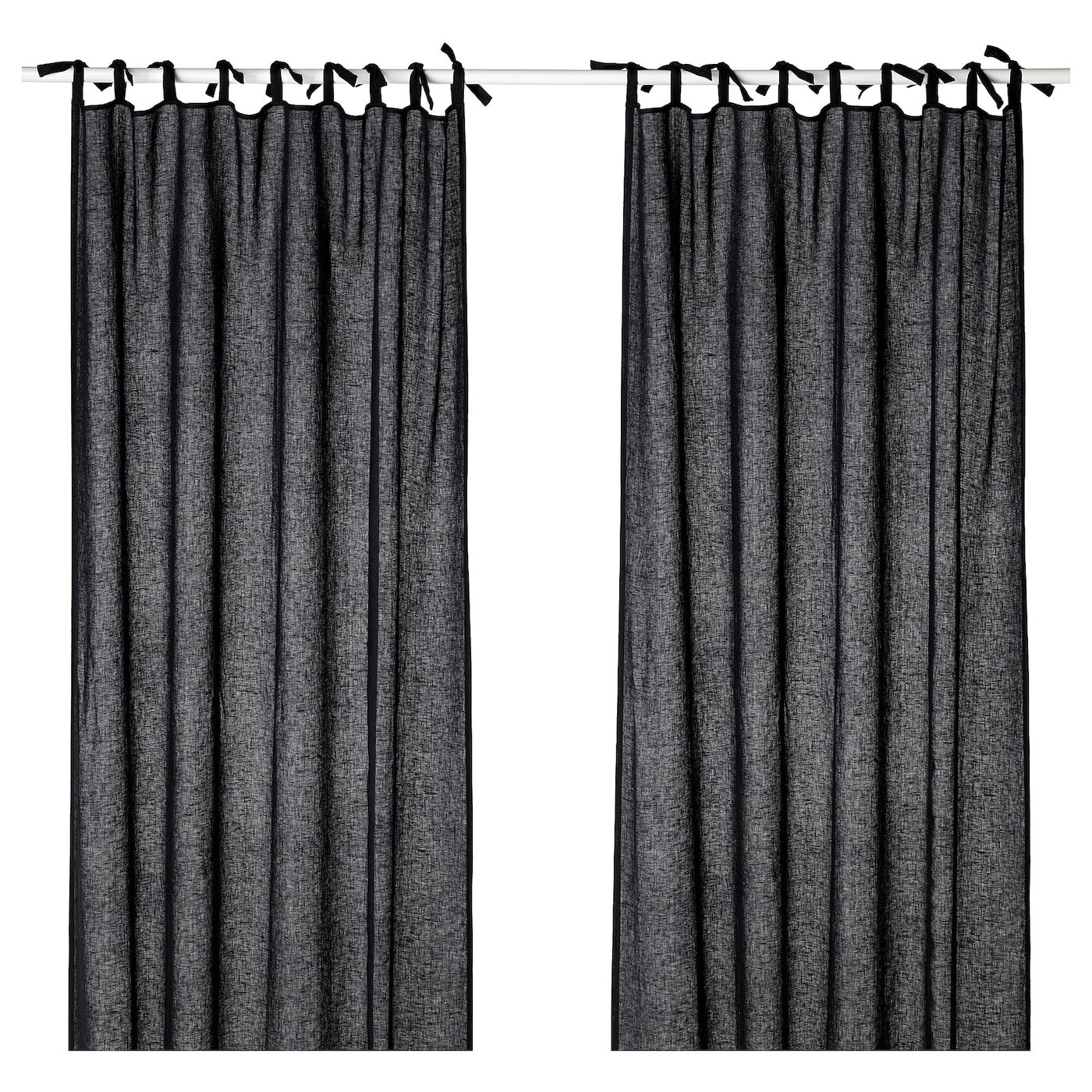 Ikea Jofrid Curtains 1 Pair Linen Is Strong And Durable Gets Softer After Washing
