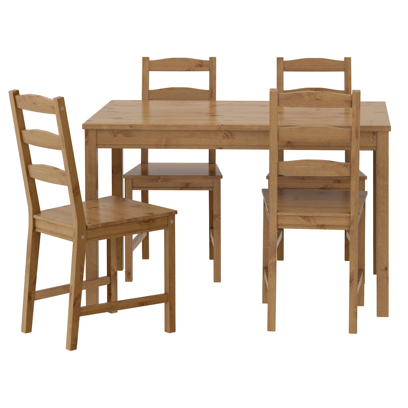 Small kitchen table set - Ikea Jokkmokk Table And 4 Chairs Solid Pine A Natural Material That Ages Beautifully