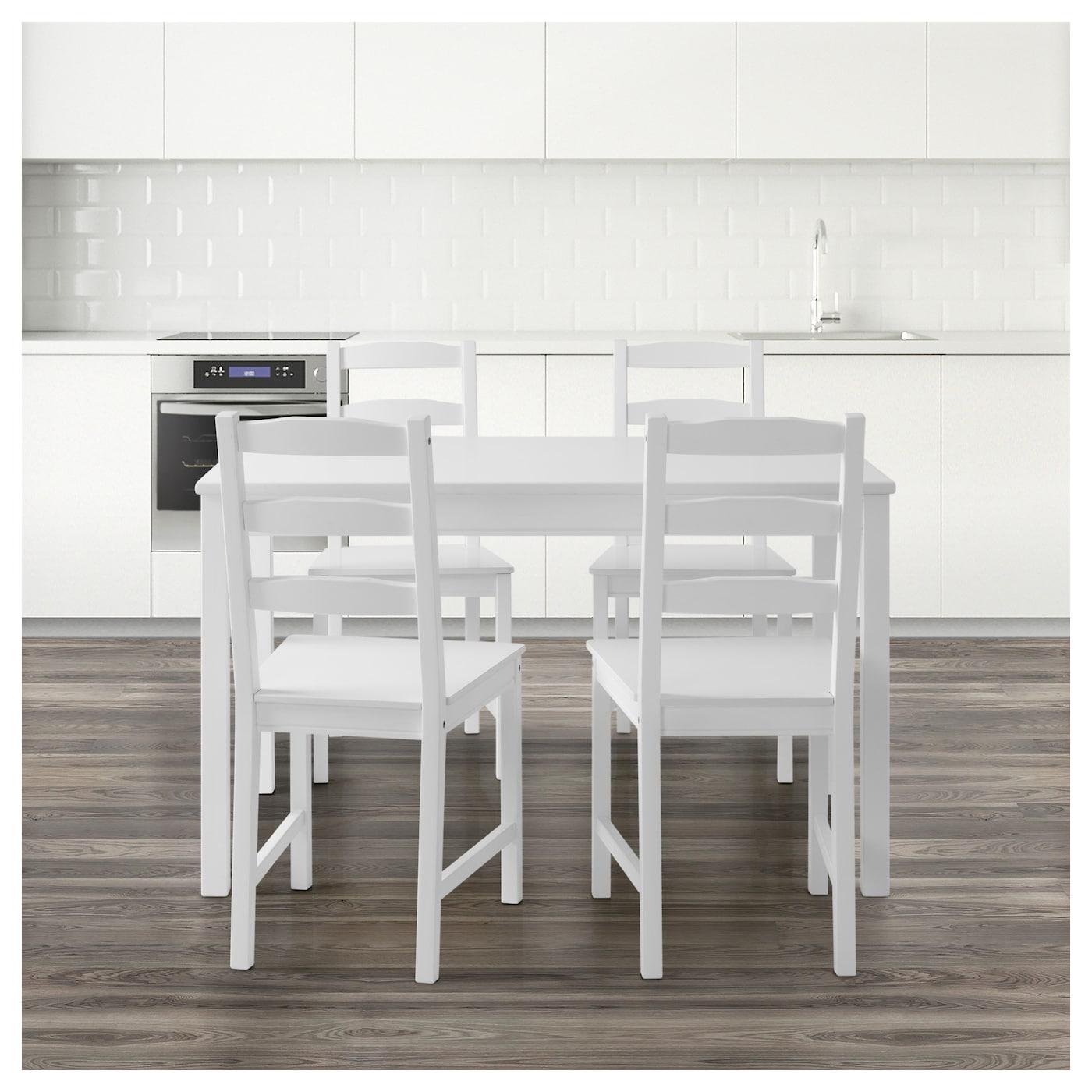 JOKKMOKK Table and 4 chairs White IKEA : jokkmokk table and 4 chairs white0515063pe639791s5 from www.ikea.com size 2000 x 2000 jpeg 535kB