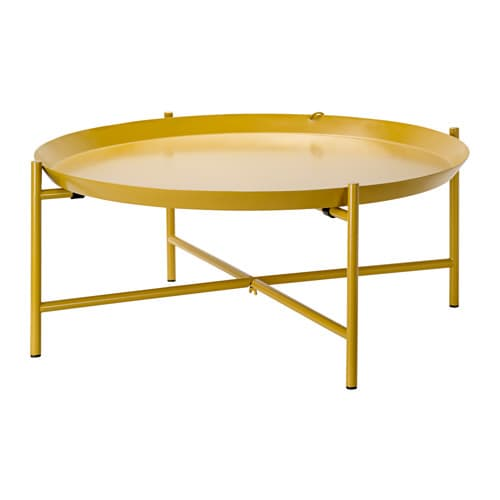 Jorid Tray Table Yellow 73 Cm Ikea