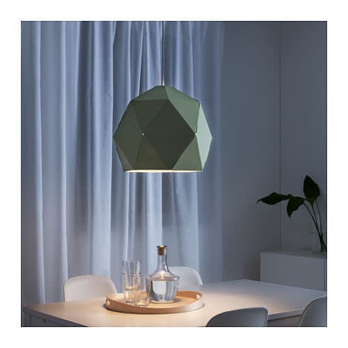 joxtorp pendant lamp shade light green 44 cm ikea