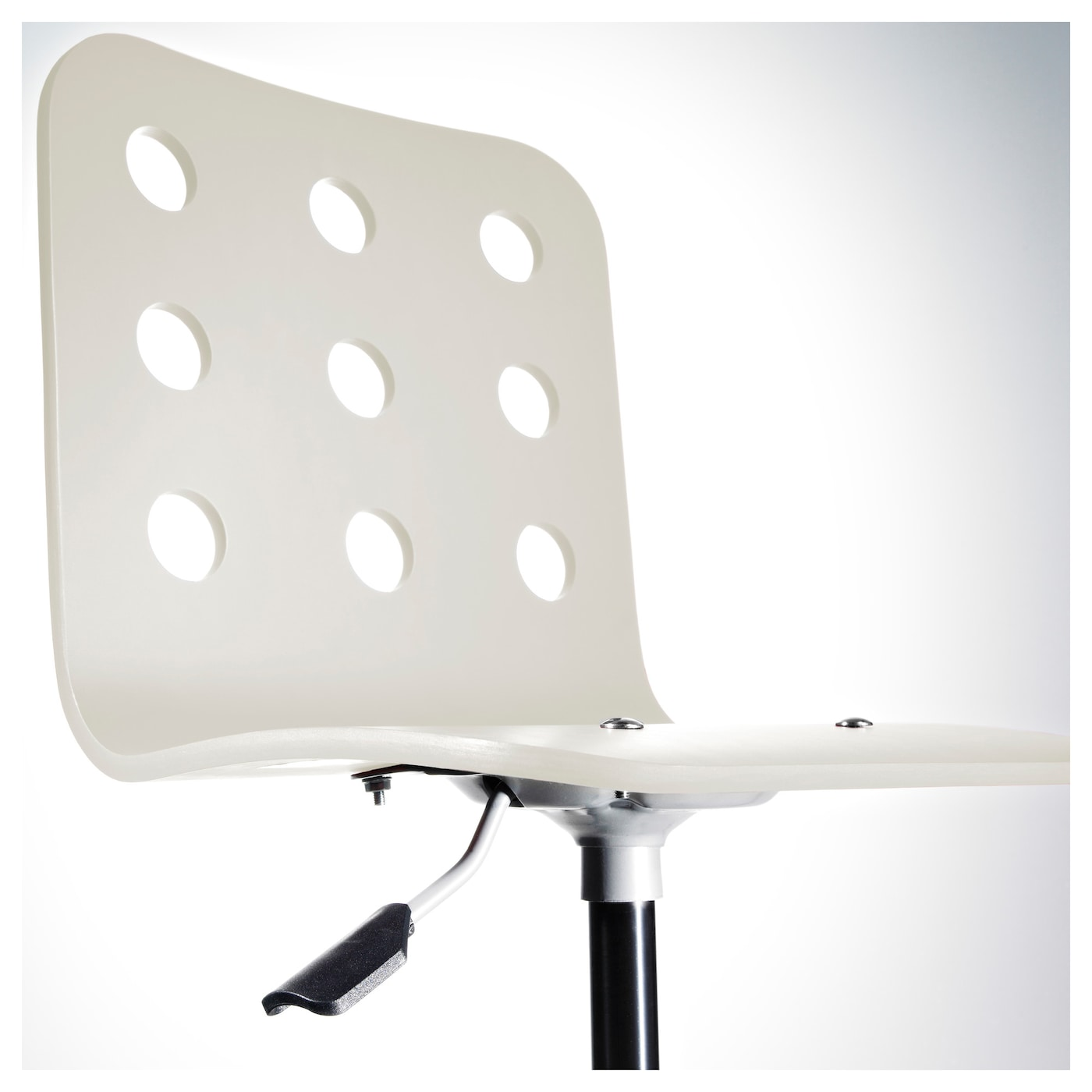 Jules Children 39 S Desk Chair White Silver Colour Ikea