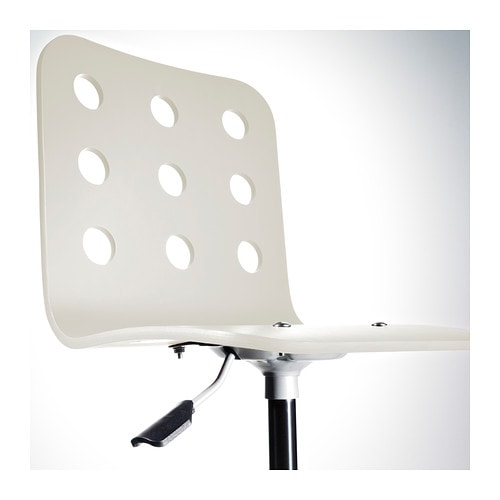 IKEA JULES junior desk chair You sit comfortably since the chair is adjustable in height.