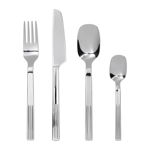 IKEA JUSTERA 24-piece cutlery set