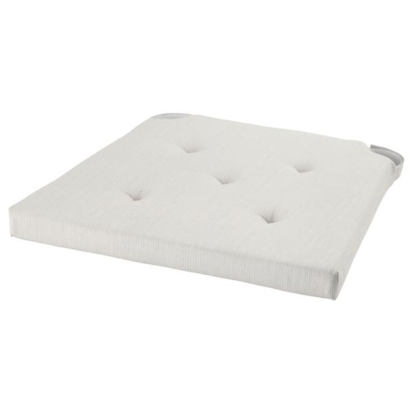 MALINDA grey, Chair cushion, 4035x38x7