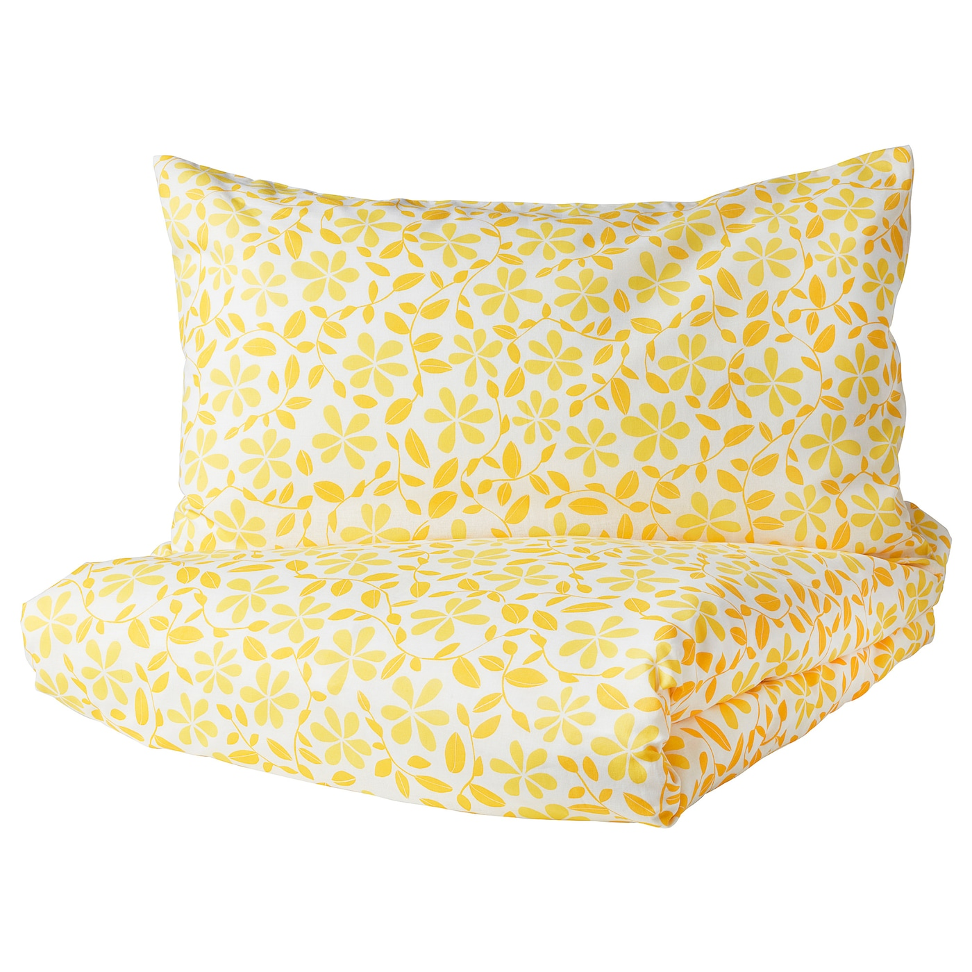 IKEA JUVELBLOMMA quilt cover and pillowcase