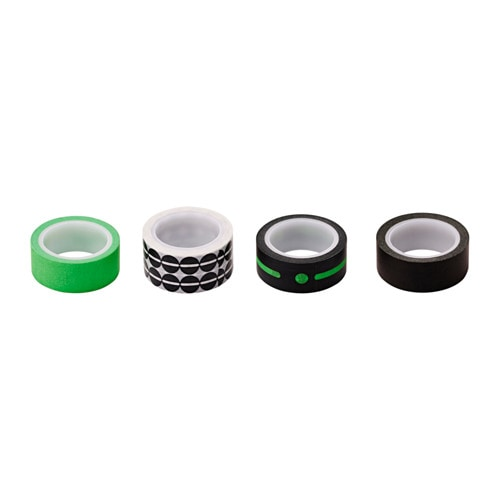 IKEA KÄNNETECKEN roll of tape, set of 4