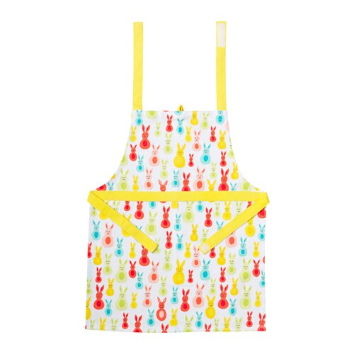 IKEA KACKLING children's apron The neck-band can be adjusted to fit everybody.