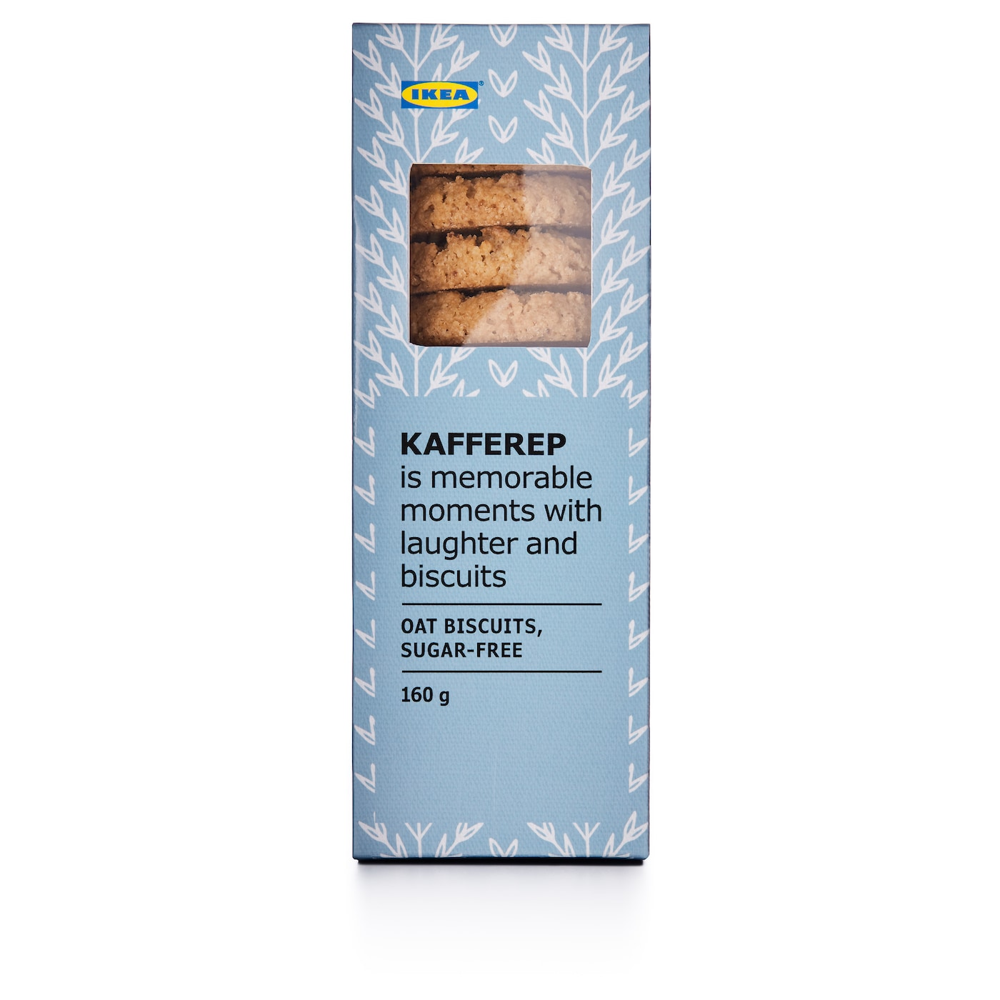 IKEA KAFFEREP oat biscuits Crunchy and delicate oat biscuits with a touch of caramel.
