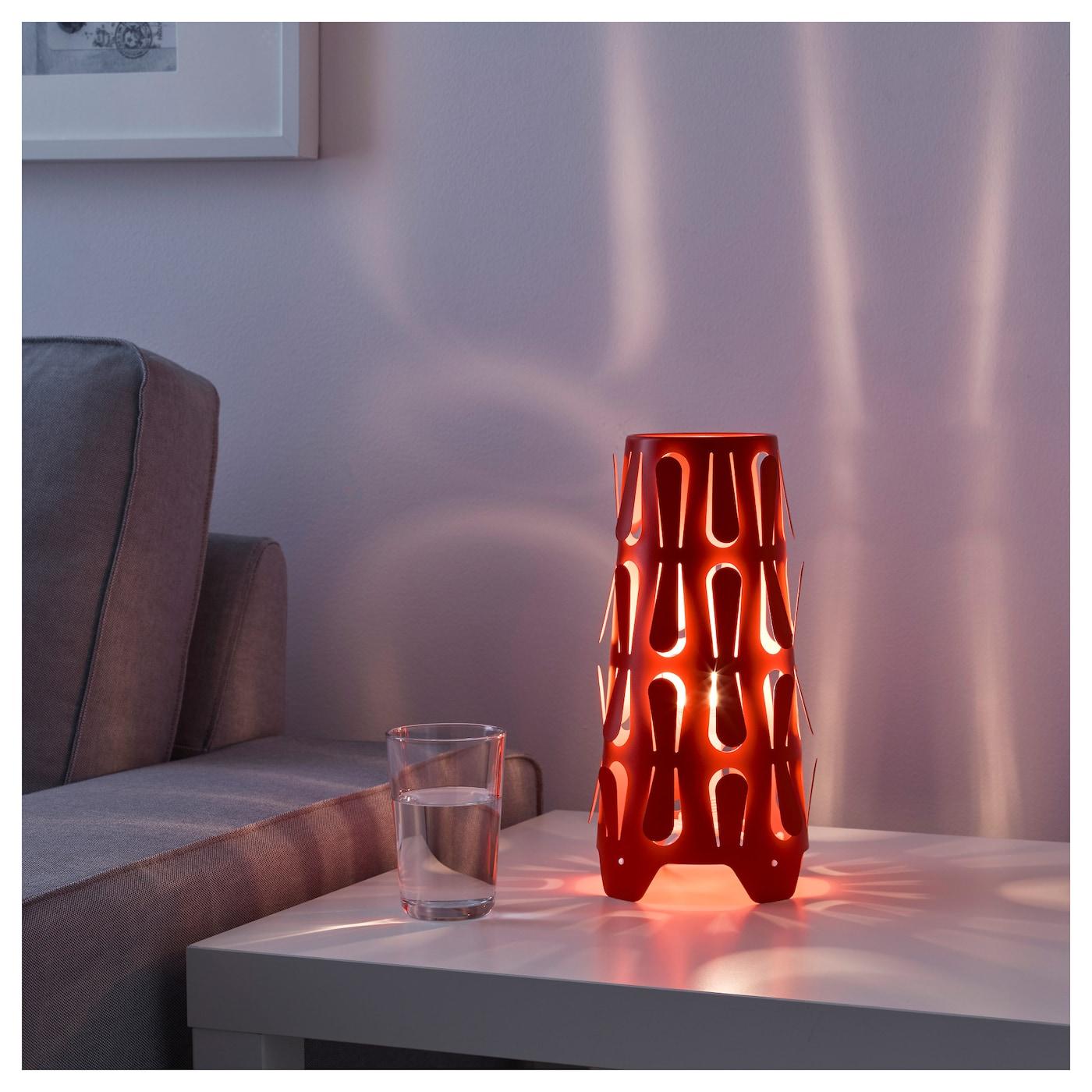 Kajuta Table Lamp Orange Ikea