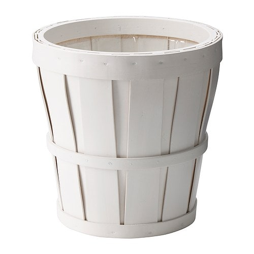 KALASA Plant pot IKEA Plastic inside pot; makes the plant pot waterproof.