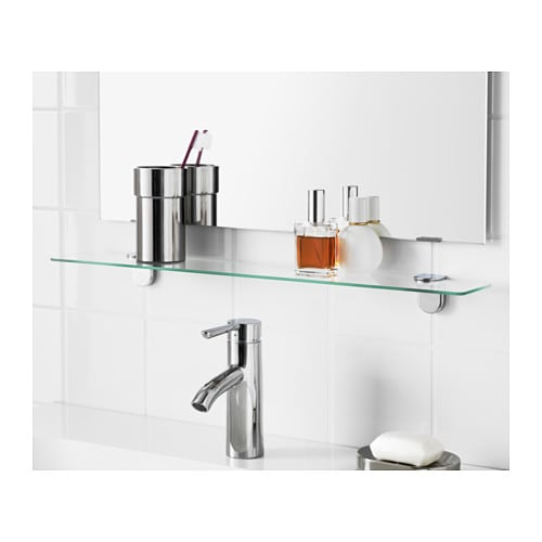 Ikea Wickelkommode Leksvik Gebraucht ~ IKEA KALKGRUND glass shelf Tempered glass  extra resistant to heat