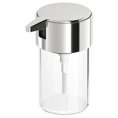 KALKGRUND soap dispenser chrome-plated 13.6 cm 250 ml