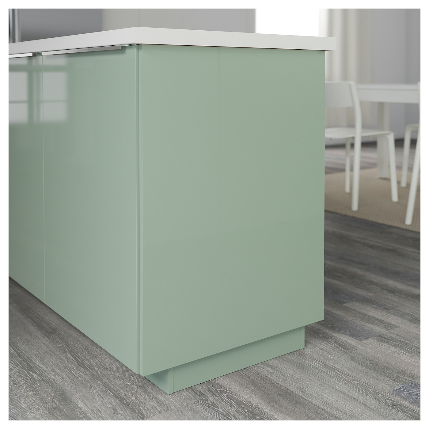 kallarp cover panel high gloss light green 62x220 cm ikea. Black Bedroom Furniture Sets. Home Design Ideas