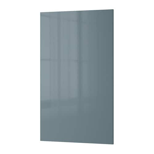 kallarp door high gloss grey turquoise pe s4