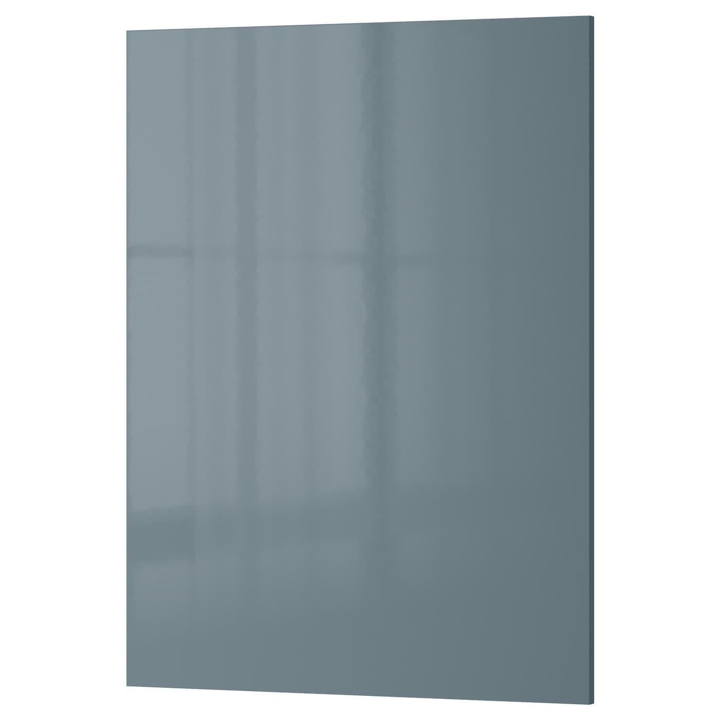 KALLARP Door High-gloss grey-turquoise 60 x 80 cm - IKEA