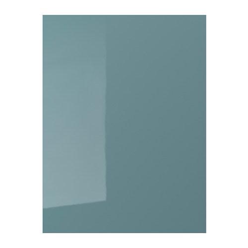 KALLARP Door High-gloss Grey-turquoise 60 X 80 Cm