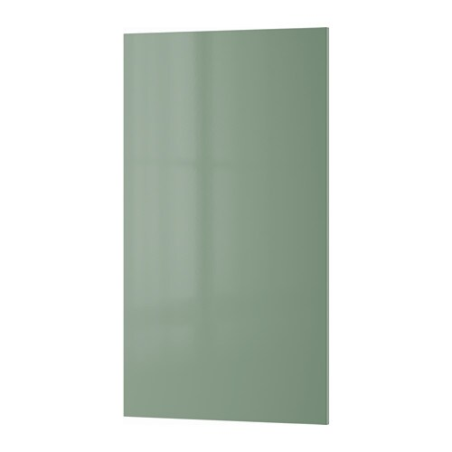 IKEA KALLARP front for dishwasher Covered with high-gloss foil; gives an easy care finish.