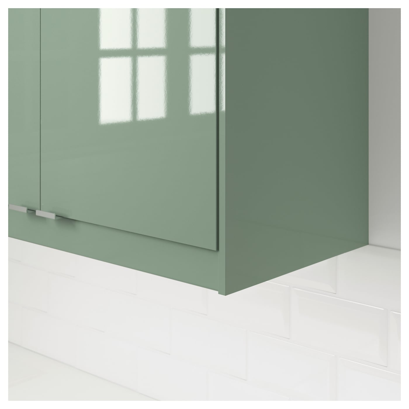 Stripping Kitchen Cabinets: KALLARP Rounded Deco Strip/moulding High-gloss Light Green