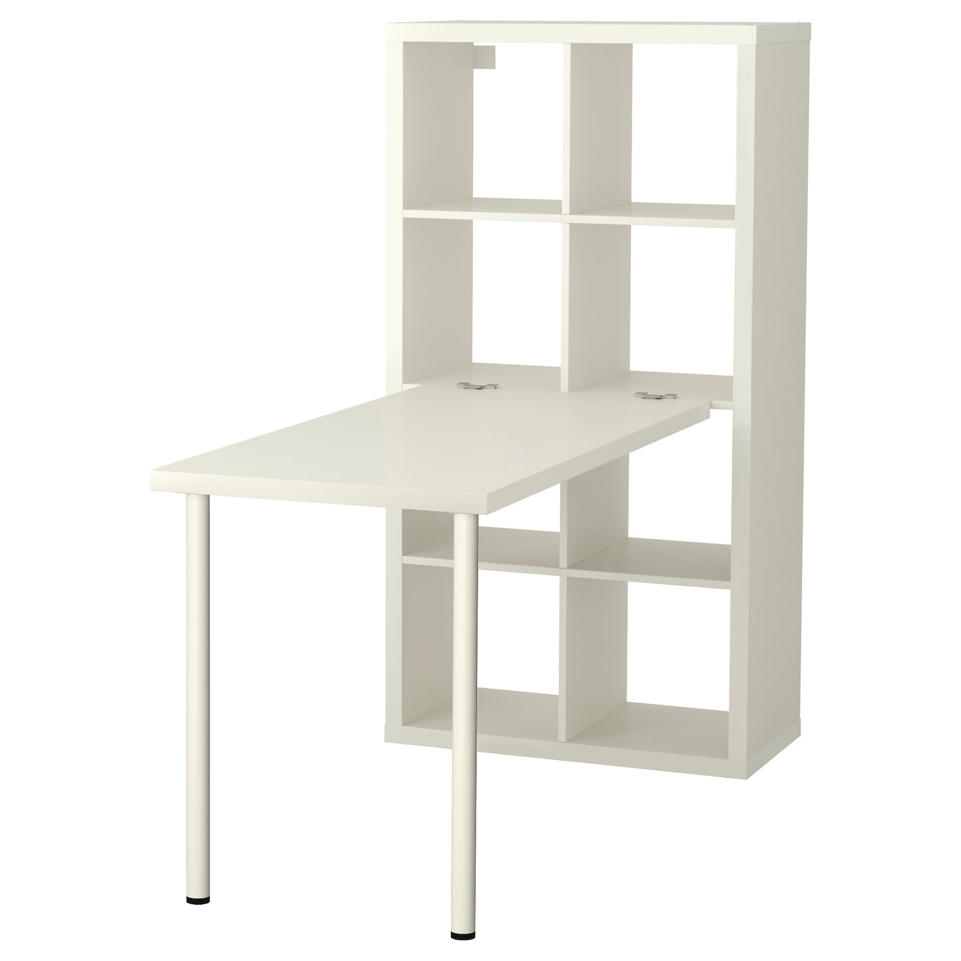 Kallax desk combination white 77 x 147 cm ikea - Mobile computer ikea ...