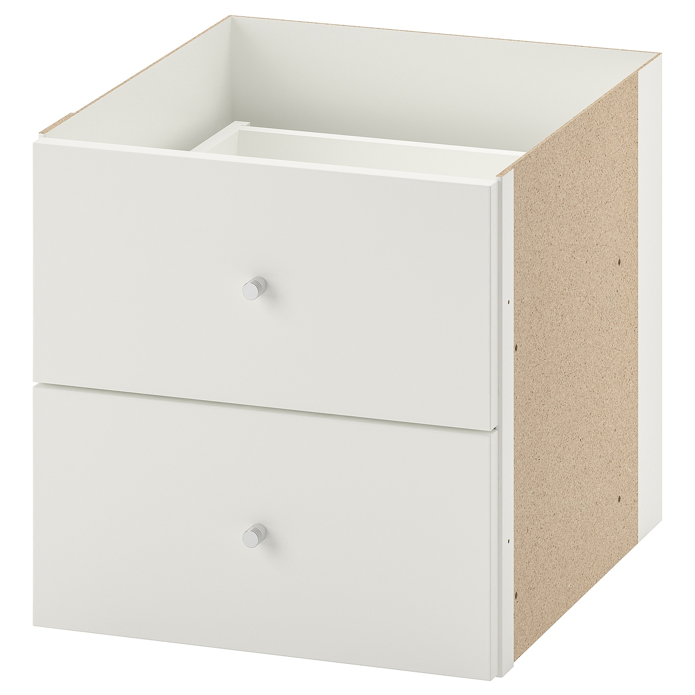 IKEA KALLAX insert with 2 drawers Easy to assemble.