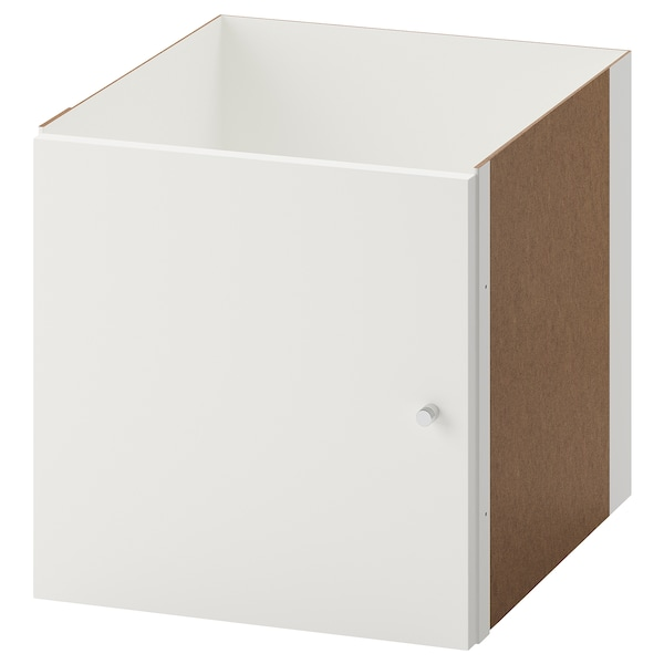 KALLAX Insert with door, white, 33x33 cm