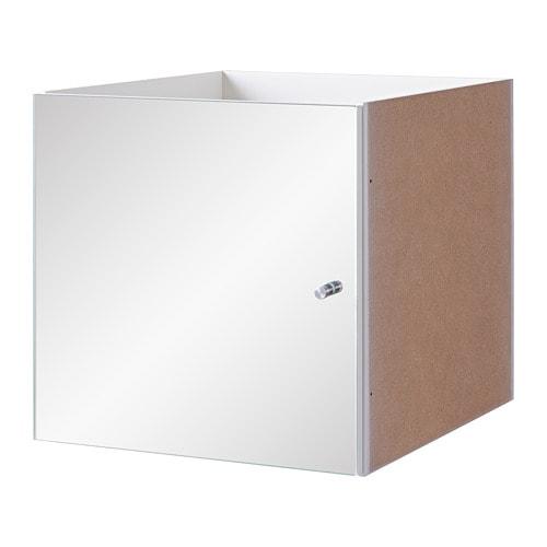 kallax insert with mirror door 33 x 33 cm ikea. Black Bedroom Furniture Sets. Home Design Ideas