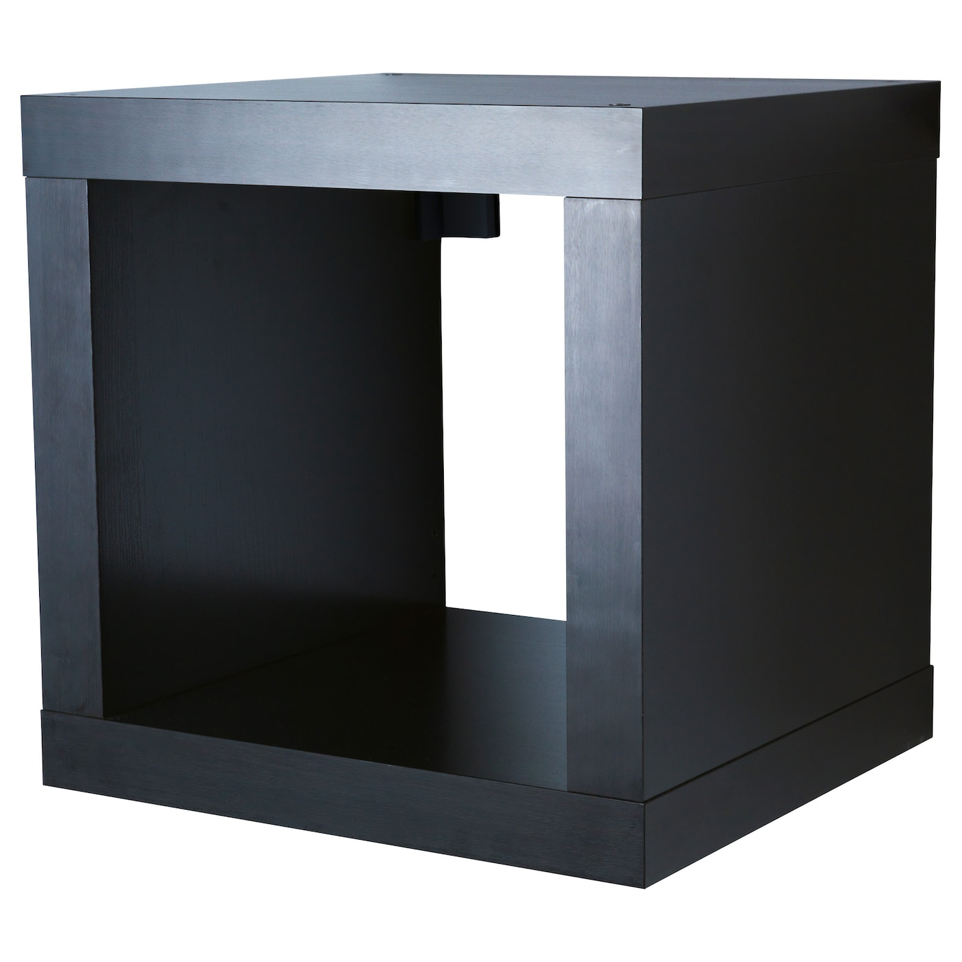 kallax shelving unit black brown 42x42 cm ikea. Black Bedroom Furniture Sets. Home Design Ideas