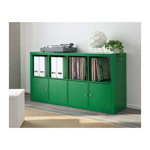 KALLAX Shelving unit Green 77x147 cm - IKEA