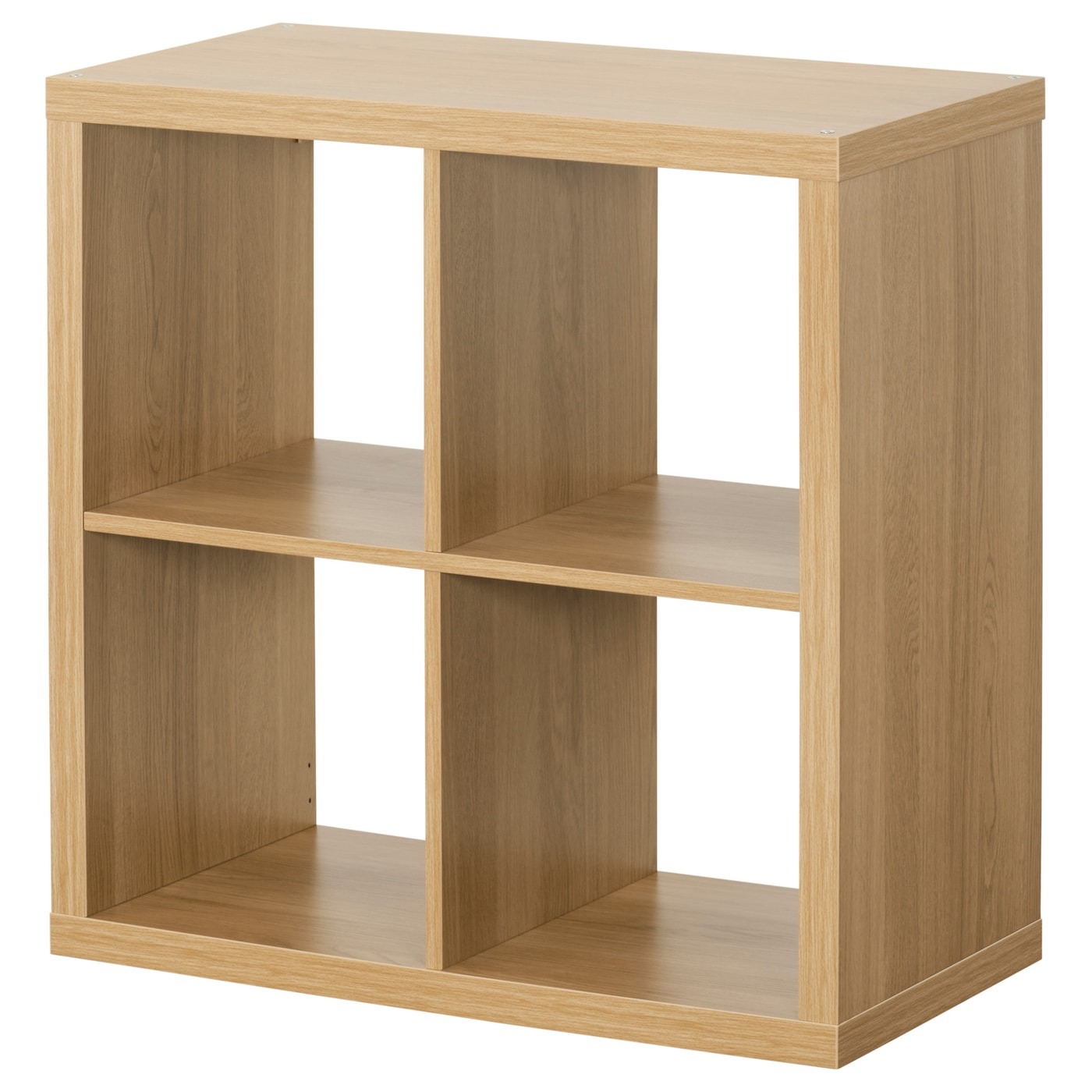 IKEA KALLAX shelving unit. KALLAX Shelving unit Oak effect 77x77 cm   IKEA